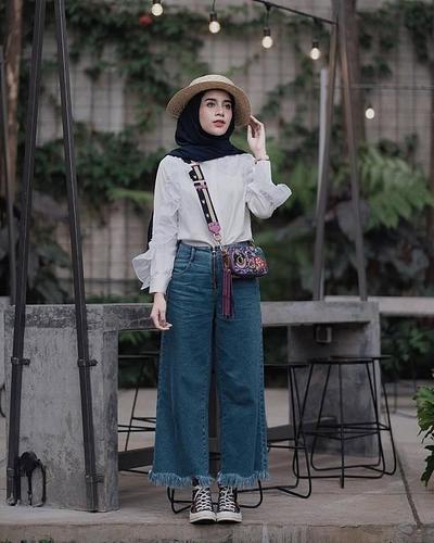 Begini Caranya Tampil Seperti Bintang Street Style untuk Hijabers