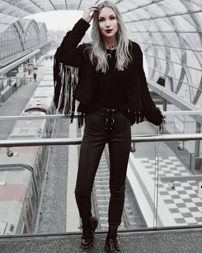 Edgy Look