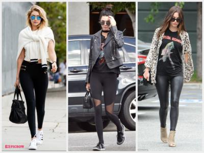 Jangan Minder! Ini Mix and Match Style Celana Legging ala Seleb Dunia yang Kece