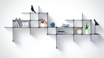 Percantik Interior Rumah Saat Lebaran dengan Rak Unik untuk Pajang Aksesoris
