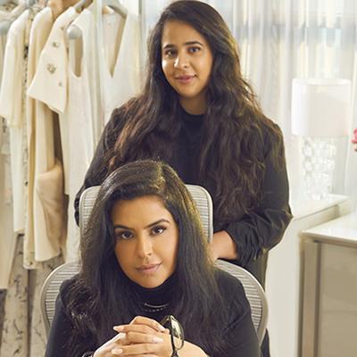 Shaikha Noor Al Khalifa dan Shaikha Haya Al Khalifa