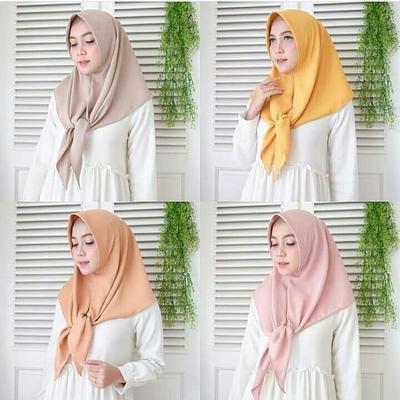 Bahan Hijab Wolfis/Wool