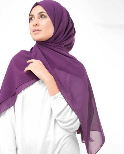 Bahan Hijab Ceruti