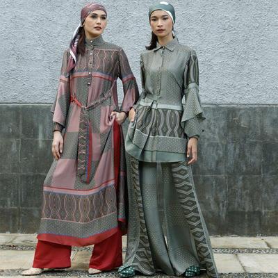 Ingin Desain Baju Istimewa untuk Lebaran, Lihat Koleksi Hijab dari 5 Desainer Indonesia Ini