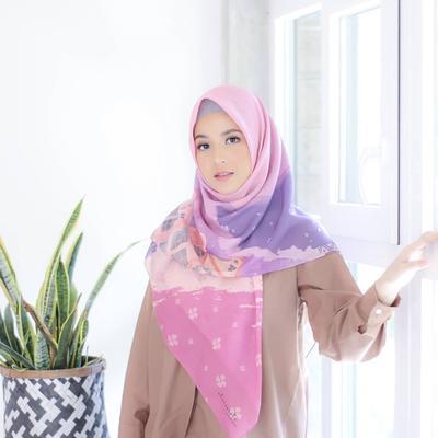 6 Bahan Hijab Anti Gerah untuk Persiapan Ramadhan 2019