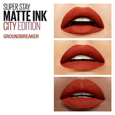 3. Maybelline Superstay Matte Ink Ground Breaker