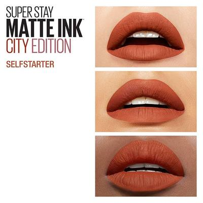 4. Maybelline Superstay Matte Ink Self Starter