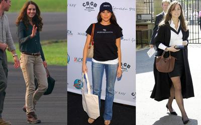 Cukup Satu Tas Wanita Ini untuk Dapatkan Gaya Puteri Kate Middleton dan Meghan Markle
