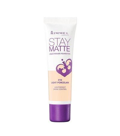 1.Rimmel London Stay Matte Liquid Mousse Foundation