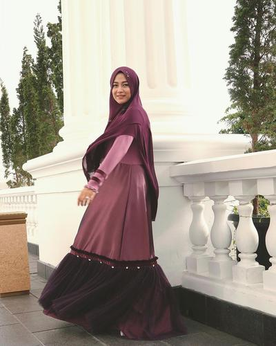 Gamis Flare Two Tone