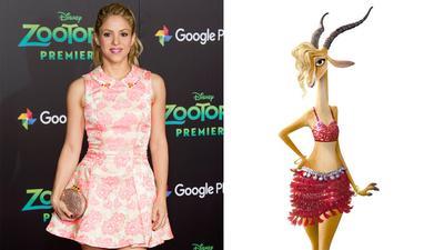Shakira – Gazelle (Zootopia)