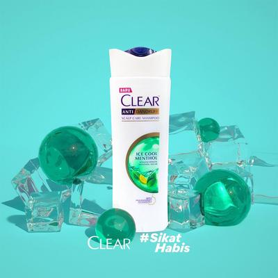 6. Clear Ice Cool Menthol Shampoo