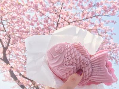 Super Gemas, Camilan Musim Semi Khas Jepang Ini Terinspirasi dari Cantiknya Bunga Sakura