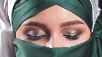 Pancaran Mata Cantik, Ini Tips Makeup untuk Muslimah Bercadar