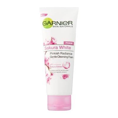 Garnier Pinkish Radiance Gentle Foam untuk Kulit Normal