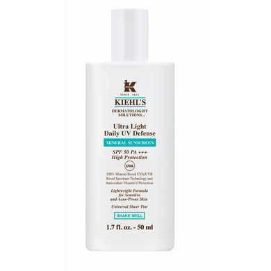 Kielhs Ultra Light Daily UV Defense Mineral Sunscreen