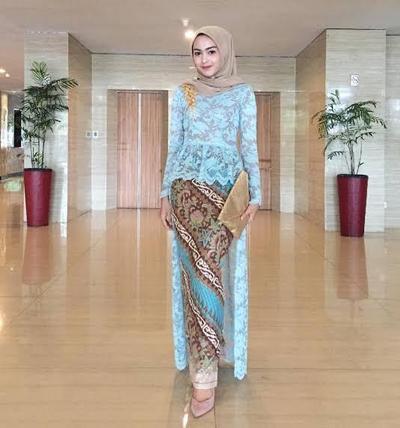 Model Rok Batik Span