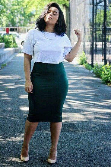 Black Pencil Skirt is The Best!