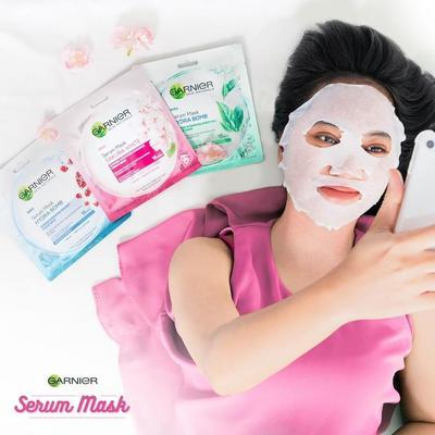 Review: 3 Varian Sheet Mask Garnier untuk Mencerahkan dan Mengurangi Minyak di Wajah