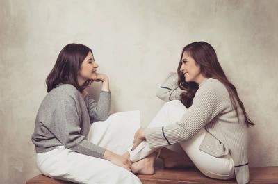 Foto: Momen Stylish Ibu-Anak Wulan Guritno dan Shaloom Razade