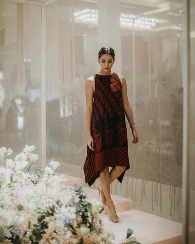 Loose Dress Batik