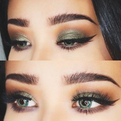 7. Eyeshadow Warna Hijau