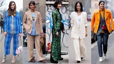 Power Suit, Trend Setelan Jas dan Celana untuk Gaya Maskulin yang Feminin