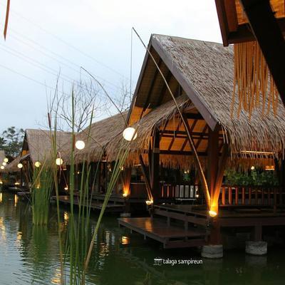 Talaga Sampireun Pondok Aren (Rp 12.000 - Rp 129.000)