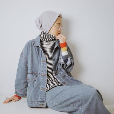 Inspirasi Gaya Hijab Nuansa K-Pop, Hits Banget!