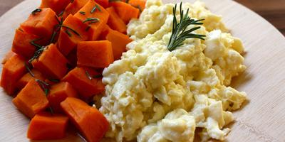 Resep: Scrambled Egg dan Tumis Wortel Kentang, Menu Sahur Sehat Praktis Tanpa Nasi