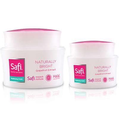4. Safi White Natural Brightening Cream Grapefruit Extract