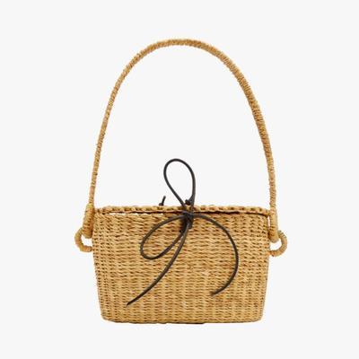 3.   Muun Jeanne Mini Straw Bag