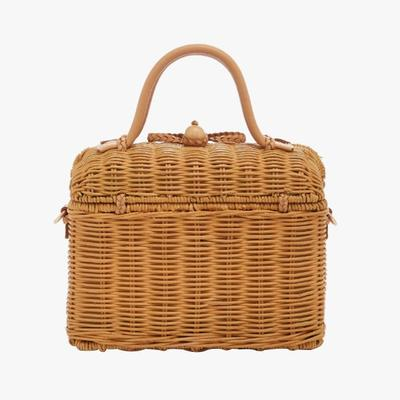 4.   Ulla Johnson Perle Wicker Bag