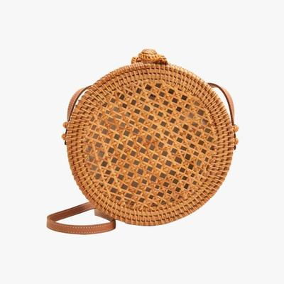 8.   Mango Bamboo Round Bag