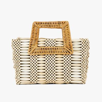 9.  Aranaz Cerise Handbag