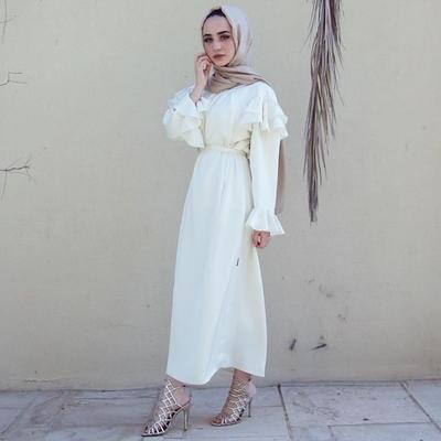 Ruffle Casual Dress