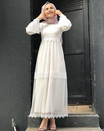 Polkadot Transparent Dress