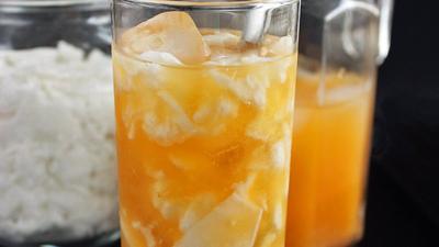 Resep: Es Jeruk Kopyor, Pelepas Dahaga Seharian Berpuasa yang Segar