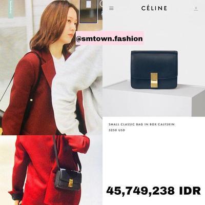 10 Koleksi Tas Mewah Krystal Jung (FX) dari Brand Ternama