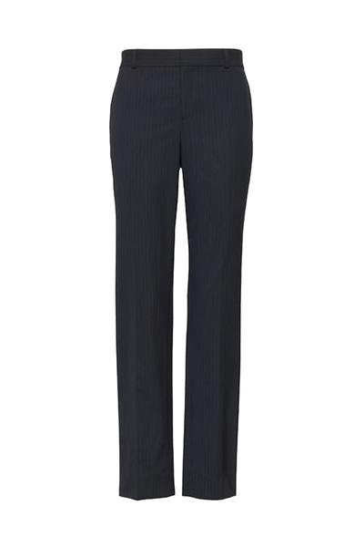 Ryan Slim Straight-Fit Washable Pinstripe Pant