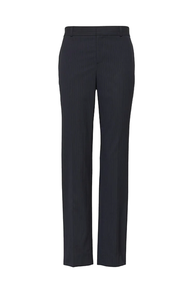 Ally Blue Checked Trousers