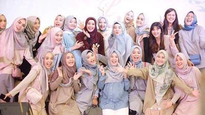 Anniversary Brand Hijab Laudya Cynthia Bella