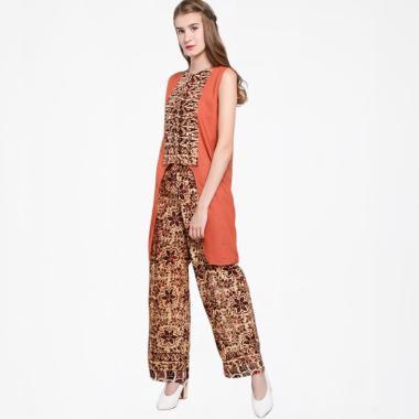 1.  Setelan Kulot Batik Tunik