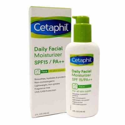 6. Cetaphil Daily Facial Moisturizer