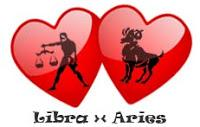 1. Aries (21 Maret - 19 April) vs. Libra (23 September - 22 Oktober)