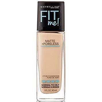 3. Maybelline Fit Me Matte Poreless Foundation