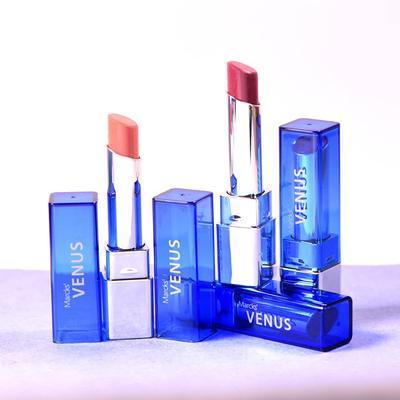 Venus Water Shine Lipstick Shade 02 Anhalita Light Pink