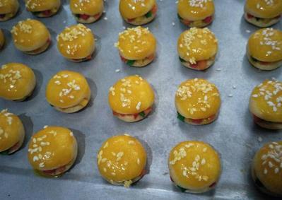 Kue Burger Nanas