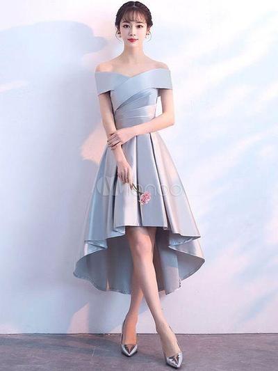 Shoulderless Coctail Dress