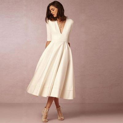 V-Neck Coctail Dress